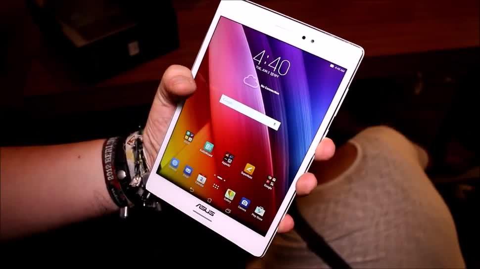 Tablet, Asus, Hands-On, Hands on, Computex, Computex 2015, ZenPad S 8.0, Asus ZenPad S 8.0