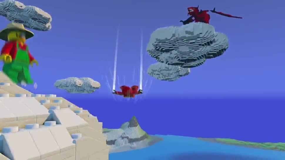 Lego Worlds Minecraft Bekommt Konkurrenz In Der KlötzchenWelt - Minecraft offline spiele