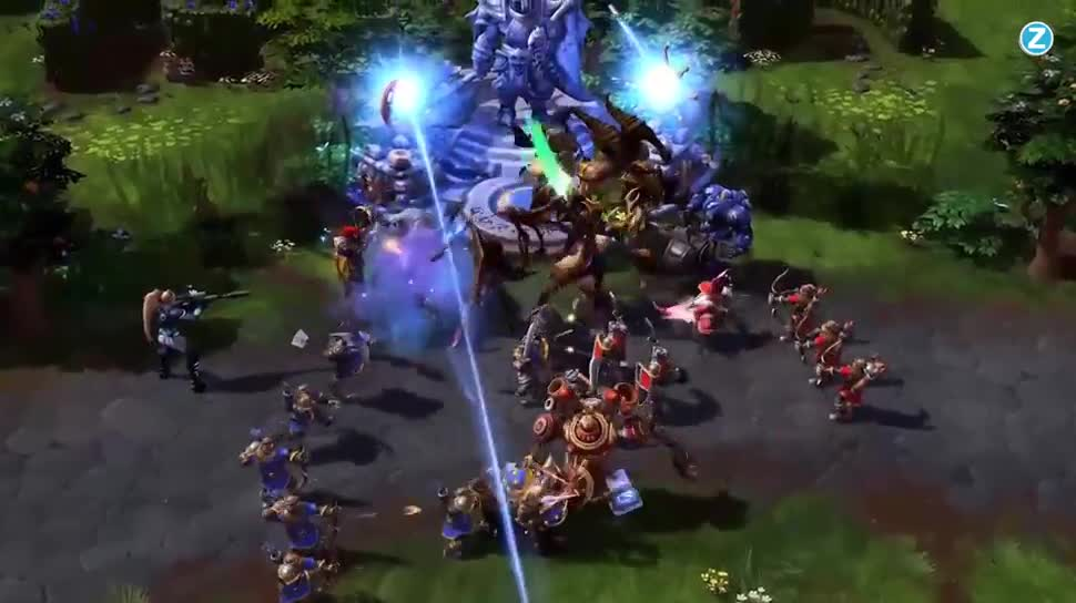 Zoomin, Blizzard, Online-Spiele, Free-to-Play, MOBA, Heroes of the Storm