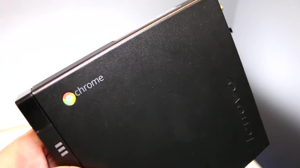 Lenovo, Test, Hands-On, Desktop, Hands on, Computex, Review, Dualcore, Google Chrome OS, Computex 2015, Chromebox, Lenovo ThinkCentre Chromebox Tiny, Chromebox Tiny, Chome OS, ThinkCentre, Intel Celeron 3205U, Intel Core i3-5005U