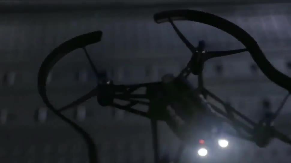 Drohne, Boot, Parrot, Quadcopter, Mini-Drohne