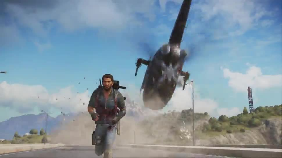 Trailer, actionspiel, Square Enix, Just Cause 3, E3 2015 Trailer