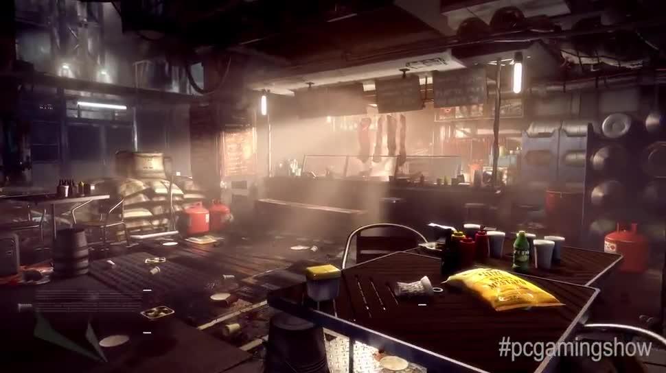 Trailer, E3, Square Enix, E3 2015, Engine, Deus Ex, Deus Ex: Mankind Divided, Mankind Divided, Dawn Engine