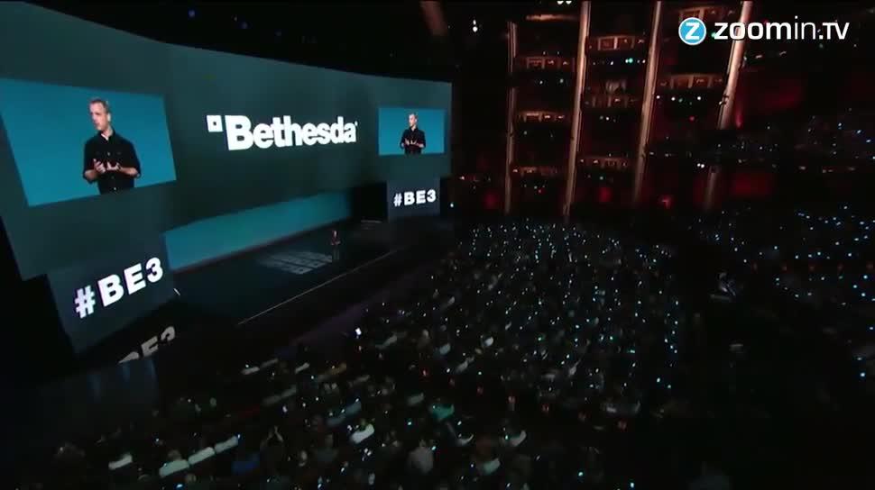 E3, Zoomin, Bethesda, E3 2015, Fallout, Doom, Fallout 4, Dishonored, Dishonored 2