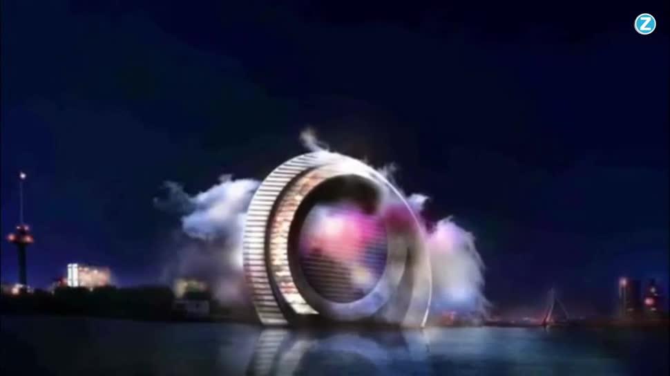 Zoomin, Energie, Energieversorgung, Windwheel, Rotterdam
