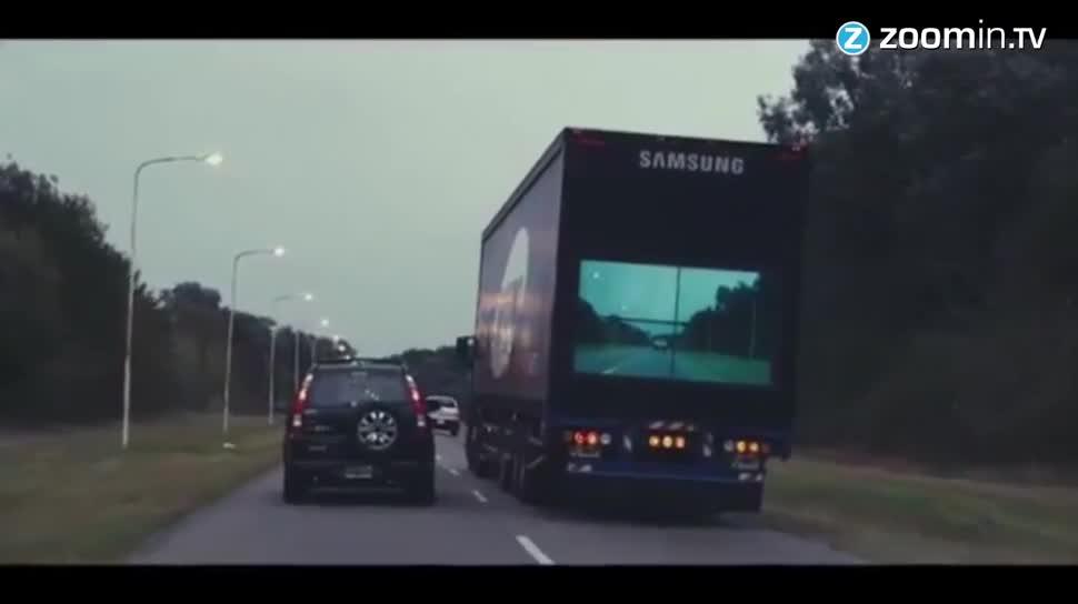 Sicherheit, Samsung, Display, Zoomin, lkw, truck, Argentinien