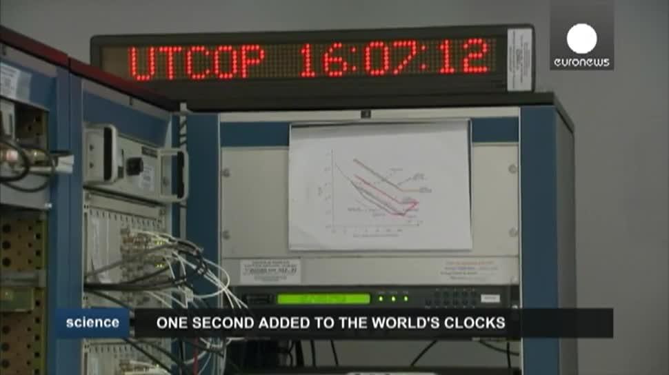EuroNews, Zeit, Schaltsekunde, Weltzeit, IERS, UTC