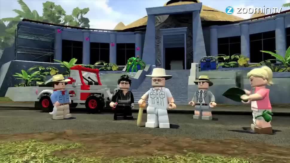 Zoomin, Warner Bros., Lego, Jurassic World, Jurassic Park, Dinosaurier, LEGO Jurassic World