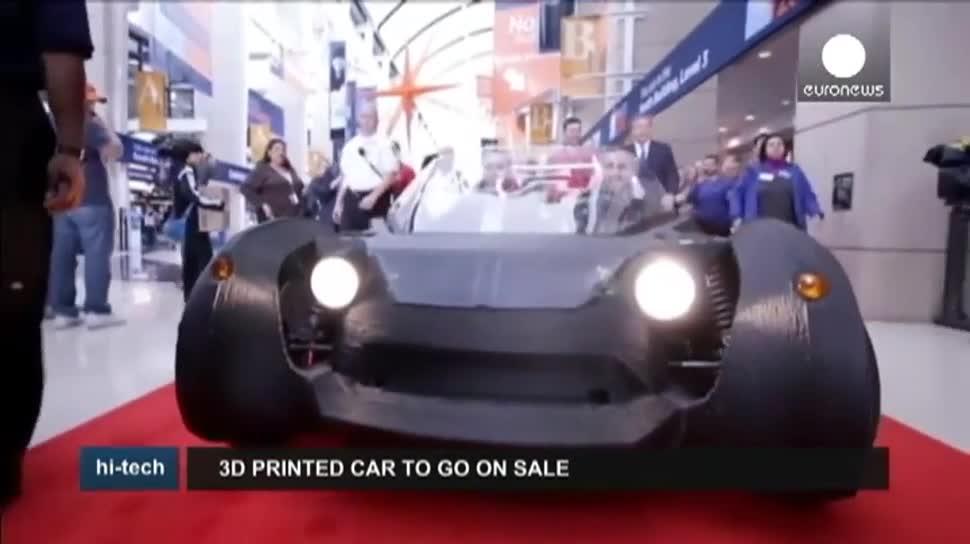 Auto, EuroNews, 3D-Druck, Local Motors, Strati