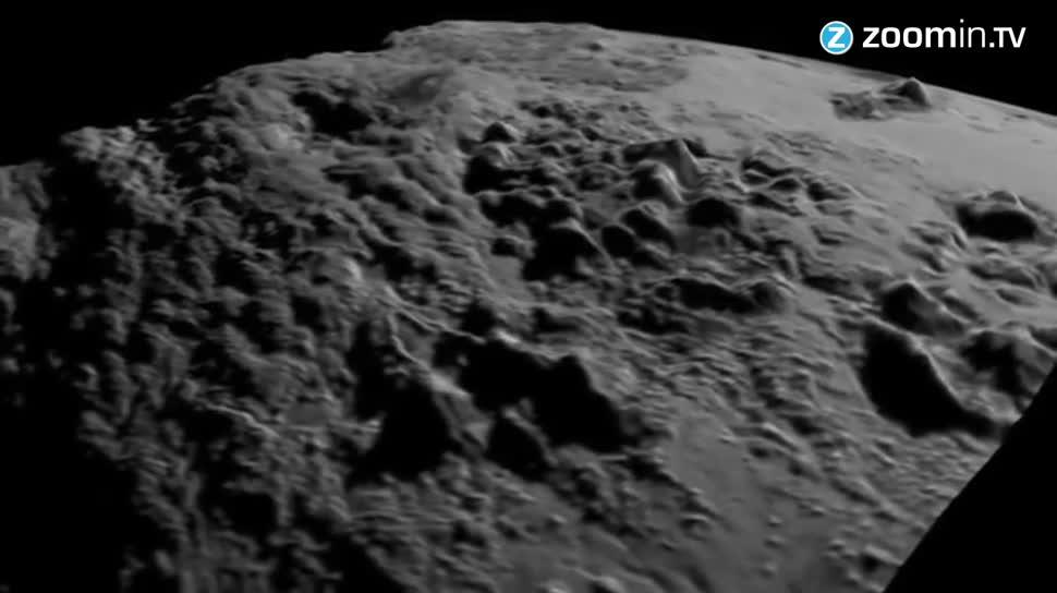 Forschung, Zoomin, Weltraum, Nasa, Sonde, Mond, Astronomie, Pluto, New Horizons, Zwergplanet, Charon
