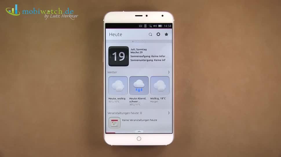 Smartphone, Lutz Herkner, Ubuntu, Meizu, Ubuntu for Phones, Ubuntu Phone, Meizu MX4