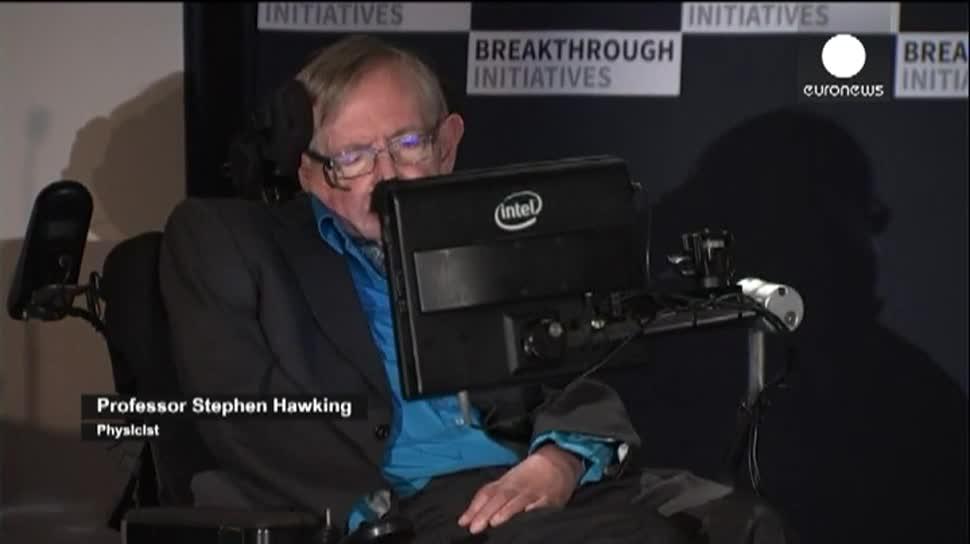 Weltraum, EuroNews, Teleskop, Stephen Hawking, außerirdische, universum, Yuri Milner, Breakthrough Listen