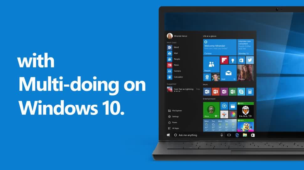 Betriebssystem, Windows, Windows 10, Multitasking, 10 Gründe für Windows 10, Info-Center, Action-Center