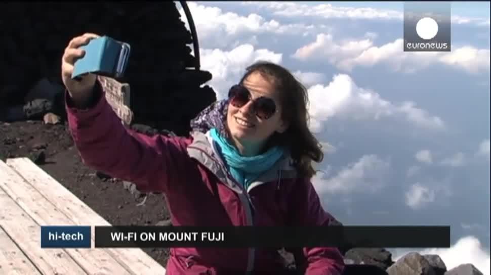 Wlan, Japan, WiFi, EuroNews, Berg, Fuji