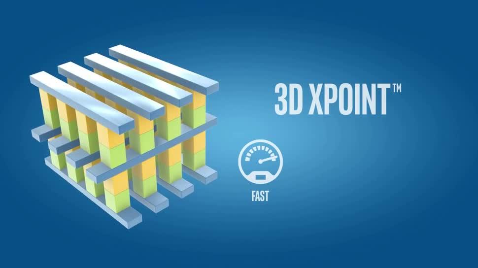 Intel, Speicher, Flash, 3d, Geschwindigkeit, Nand, DRAM, Micron, 3D XPoint, Datendichte, Speichermodul