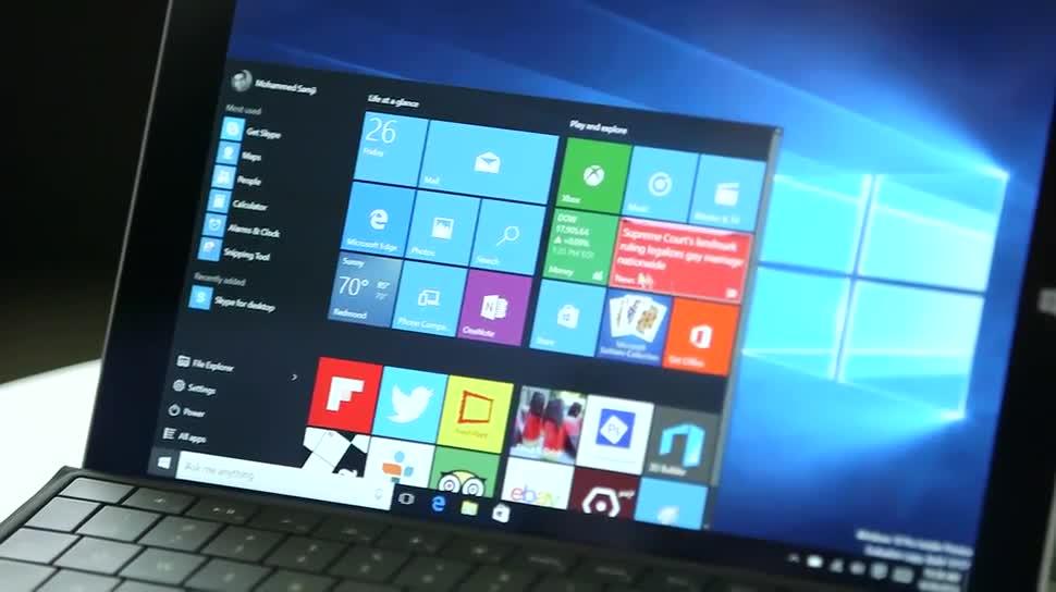 Microsoft, Betriebssystem, Windows, Windows 10, Apps, Desktop, Cortana, Touch, Startmenü, Info-Center, Mohammed Samji