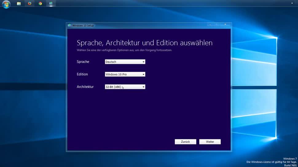 So laden Sie Windows 10 mit dem Media Creation Tool herunter