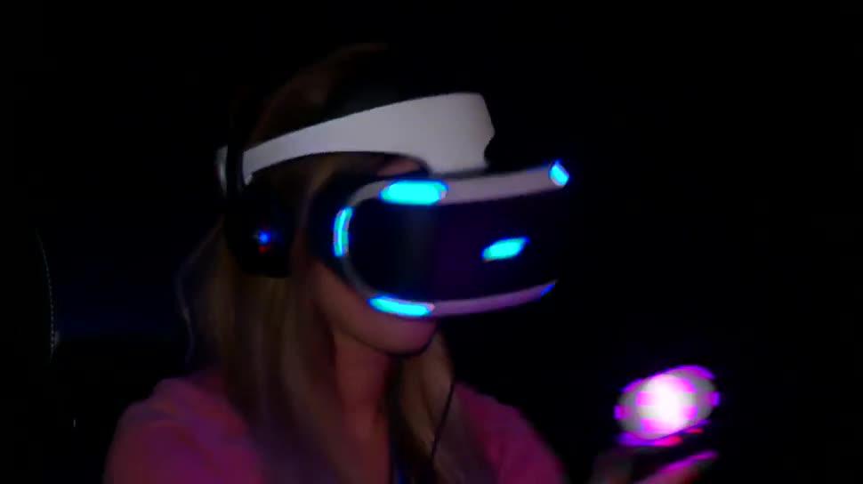 Gamescom, Virtual Reality, Messe, Videospiele, VR-Brille, Computerspiele, VR-Headset, Köln, Gamescom 2015, Dpa