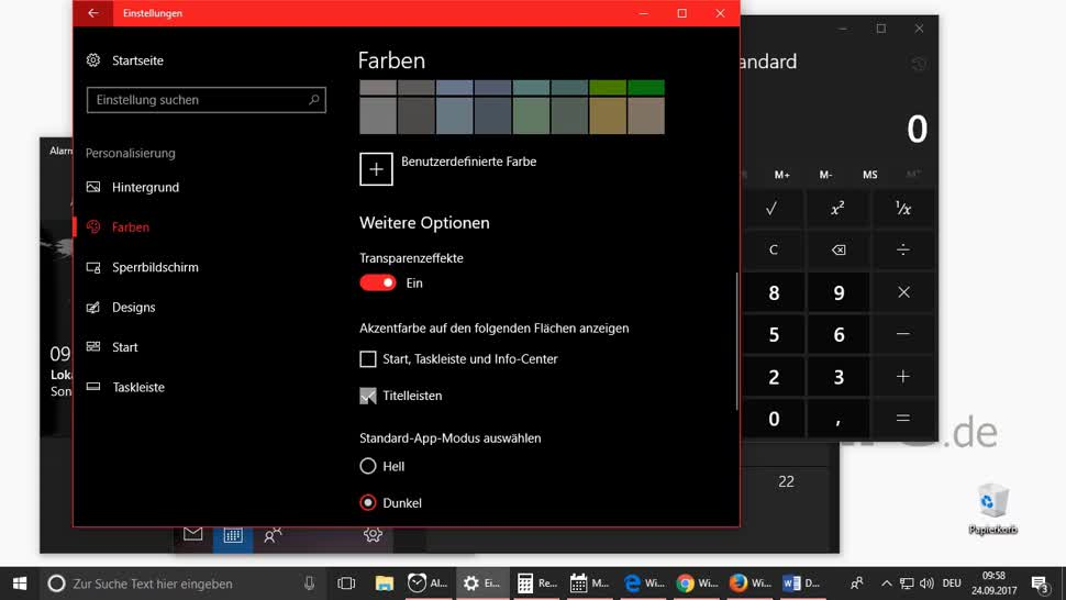 Microsoft, Windows 10, Design, Dark Mode, Faq, Themes, Dark Theme, Gui, Anpassungen, Markus Kasanmascheff, Windows 10 Dark Theme, Windows-Einstellungen