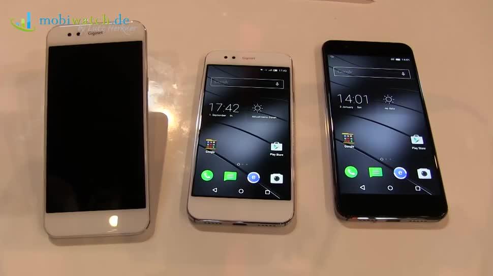 Smartphones, Ifa, Lutz Herkner, IFA 2015, gigaset, Gigaset ME, Gigaset ME Pro, Gigaset ME Pure