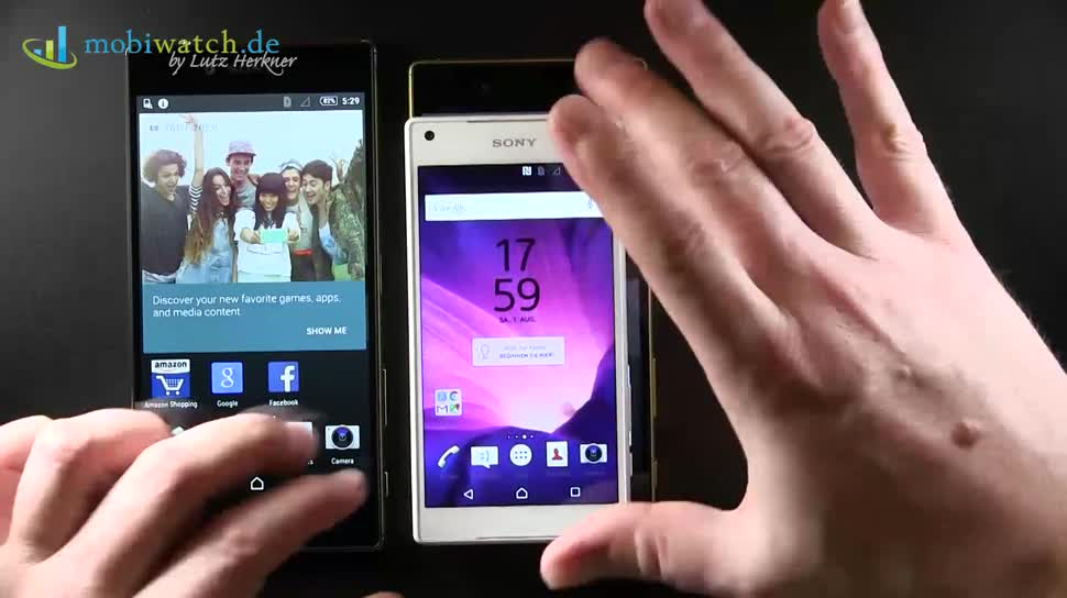 Smartphone, Android, Sony, Lutz Herkner, IFA 2015, Xperia Z5 Compact
