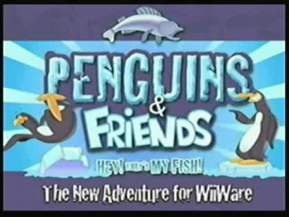 Nintendo, Wii, WiiWare, Virtual Console, Shop-Kanal, Penguins & Friends