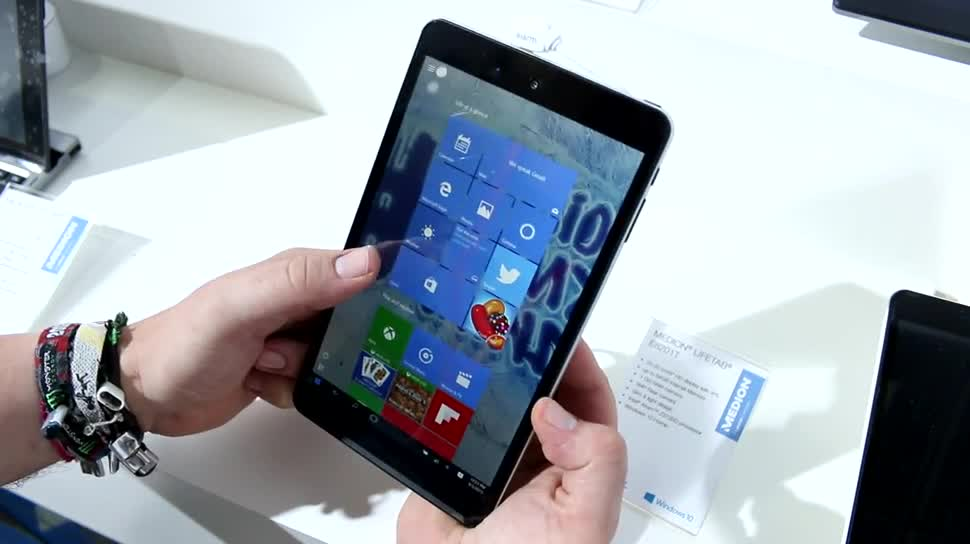 Windows 10, Tablet, Medion, IFA 2015, Lifetab e8201t