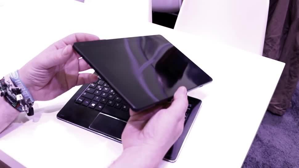 Windows 10, Tablet, Intel, Hands-On, Ifa, Hands on, IFA 2015, Dock, Trekstor, Cherry Trail, Alu, Volkstablet