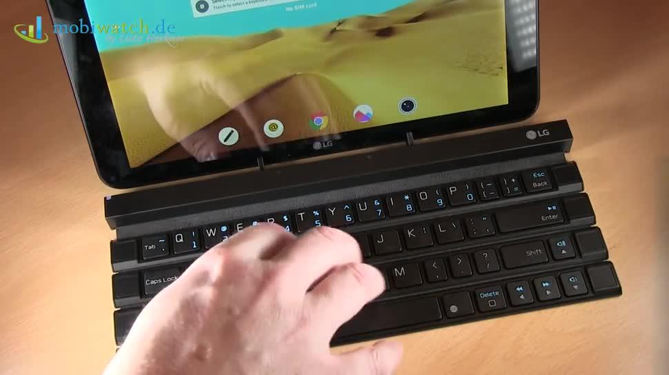LG, Tastatur, Lutz Herkner, Keyboard, IFA 2015, Rolly