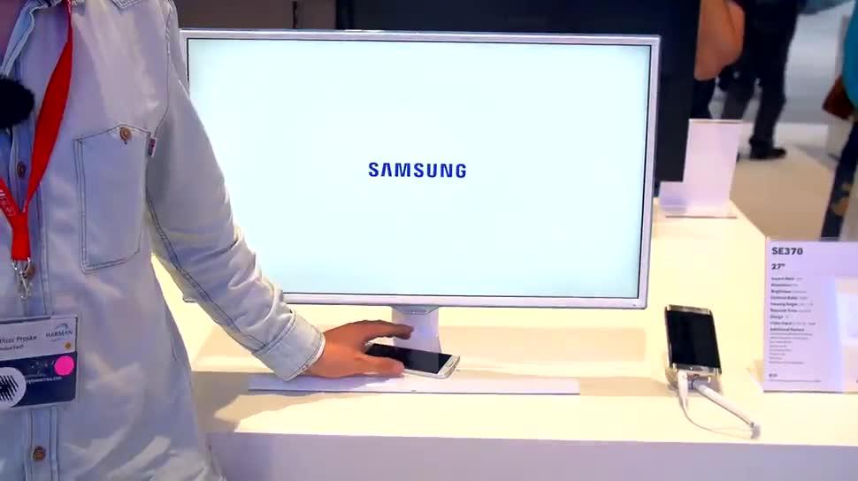 Samsung, Ifa, ValueTech, Monitor, IFA 2015, Qi, Monitore, Samsung SE370, SE370