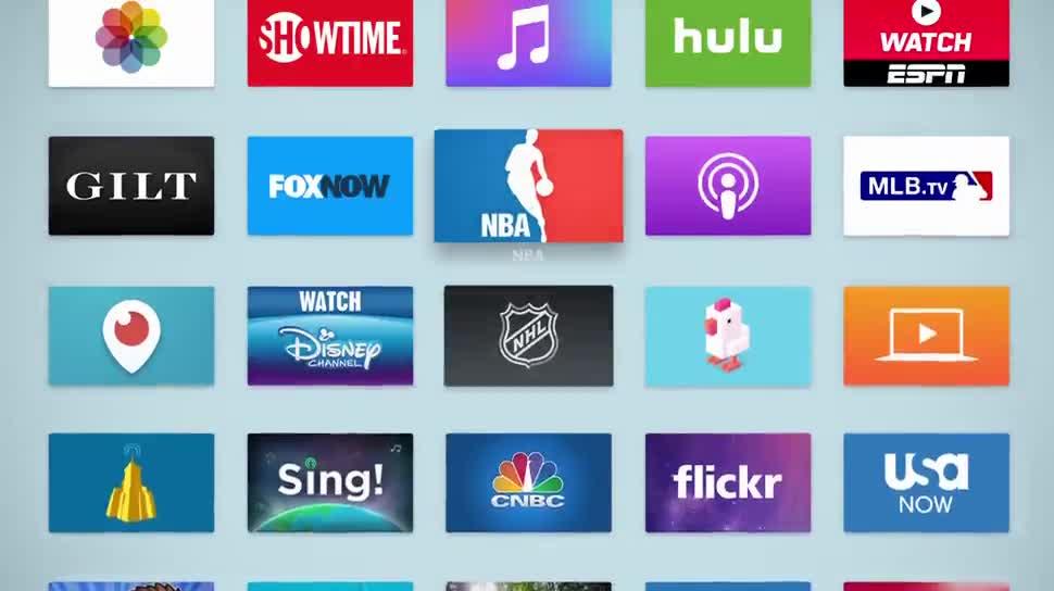 Apple, Apps, Apple Tv, Fernbedienung, Apple TV 2015