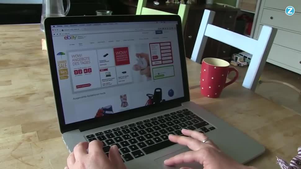 Zoomin, Ebay, shopping, Online-Shopping, Einkaufen