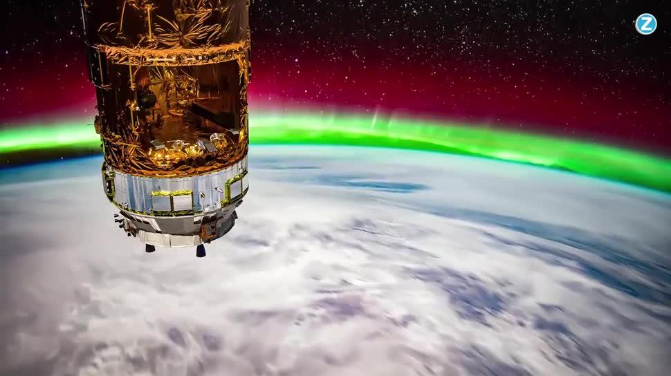 Zoomin, Weltraum, Nasa, Raumfahrt, Iss, Polarlichter