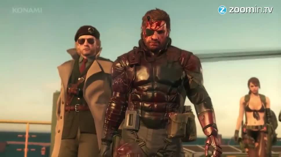 actionspiel, Zoomin, Konami, Metal Gear Solid, Hideo Kojima, Metal Gear Solid 5, The Phantom Pain