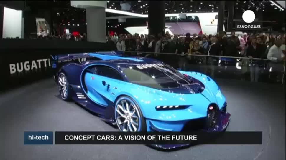 EuroNews, Porsche, Frankfurt, Honda, Mercedes-Benz, IAA, Porsche Mission E, Internationale Automobilausstellung, Concept Cars, Intelligent Aerodynamic Automobile, Honda Project 2&4, Vision Gran Turismo, Bugatti