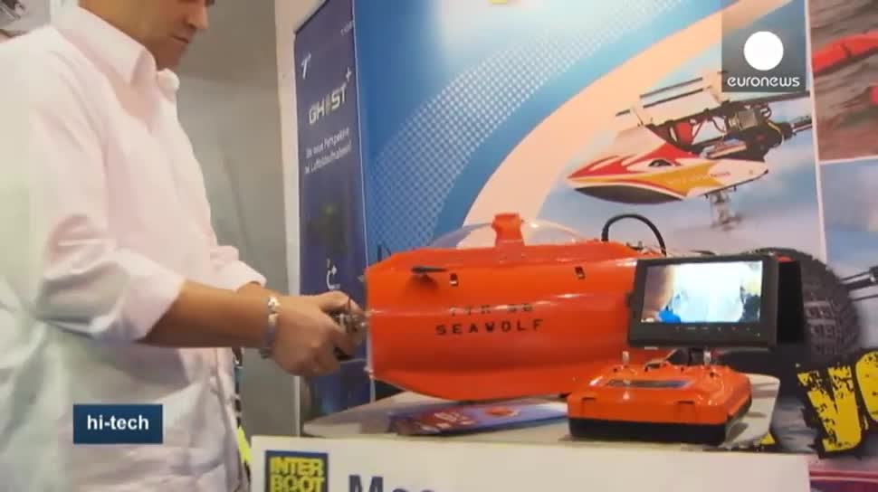Messe, EuroNews, Sport, GoPro, Quadrocopter, Interboot, Interboot 2015, Friedrichshafen
