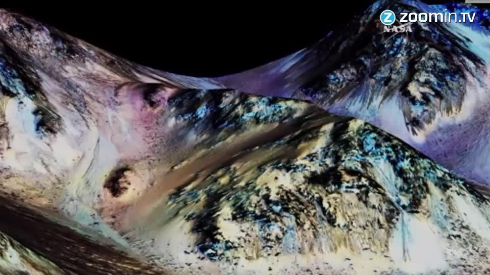 Forschung, Zoomin, Weltraum, Nasa, Mars, Sonde, Wasser, Mars-Rover, Mars Reconnaissance Orbiter