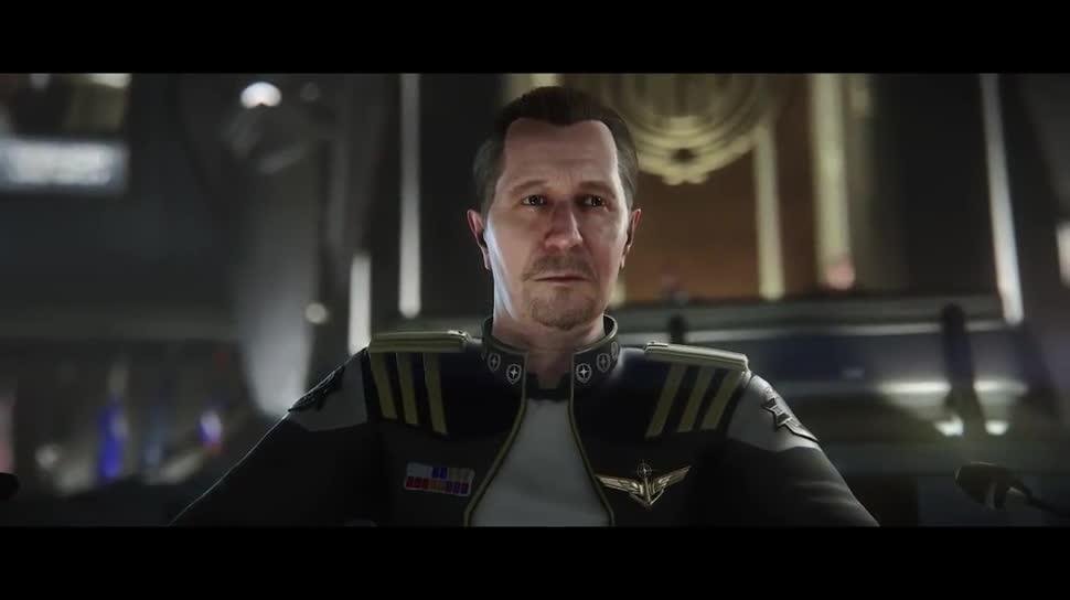 Trailer, Simulation, Star Citizen, Weltraumsimulation, Chris Roberts, Cloud Imperium Games, CitizenCon, CitizenCon 2015, Gary Oldman