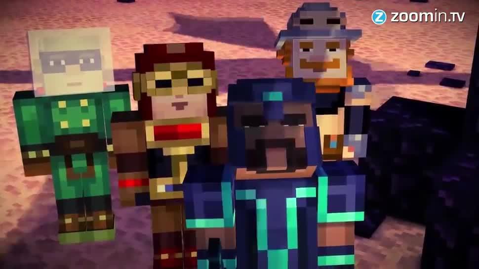Zoomin, Minecraft, mojang, Telltale, Minecraft: Story Mode