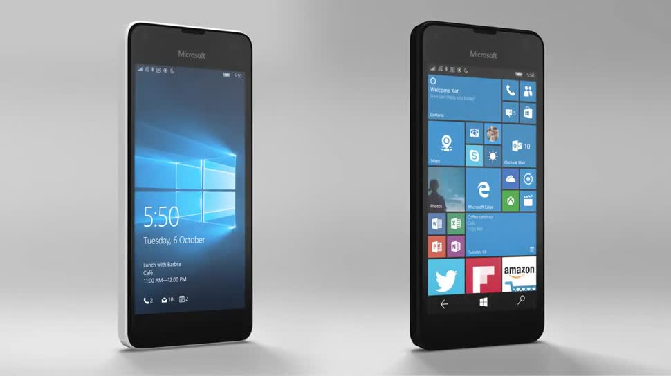 Microsoft, Smartphone, Windows 10 Mobile, Lumia, Microsoft Lumia, Vorstellung, Lumia 550