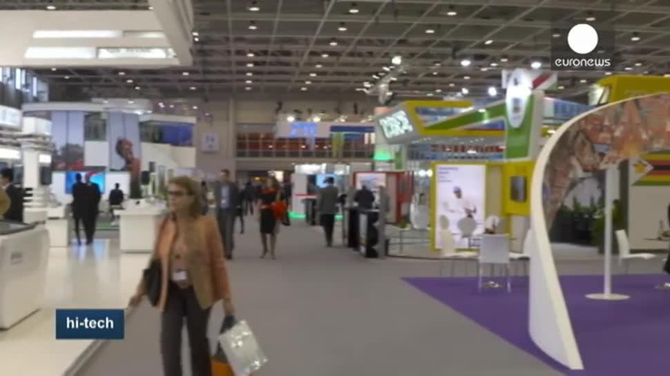 EuroNews, Budapest, ITU Telecom World, Holografika Ltd., Beachegg, Logiscool