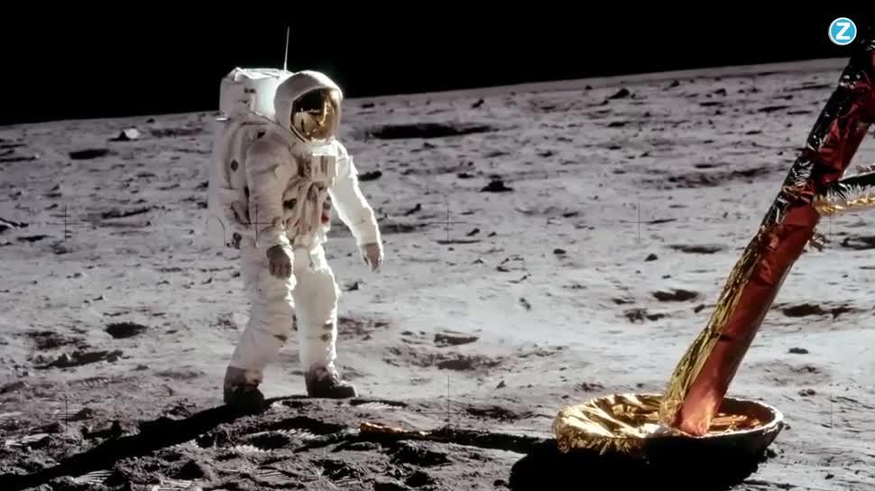 Forschung, Zoomin, Weltraum, Nasa, Mond, Verschwörungstheorien