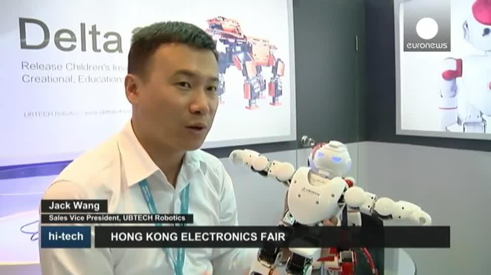 Motorola, Roboter, Messe, Drohnen, EuroNews, Yuneec, Hong Kong Electronics Fair, UBTech, Motorola Scout 5000, Binatone Electronics International