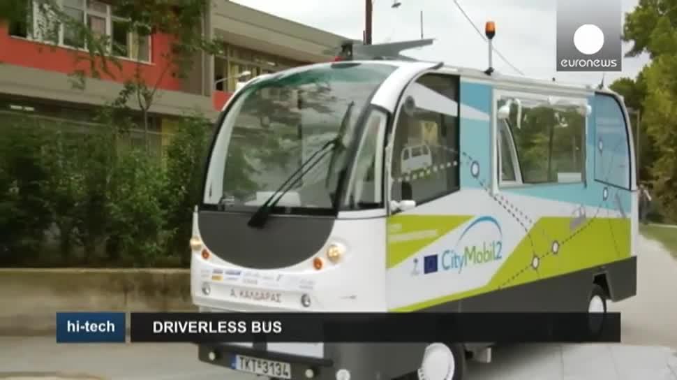 Autos, E-Auto, Verkehr, EuroNews, E-Bus, CityMobil2, Robosoft