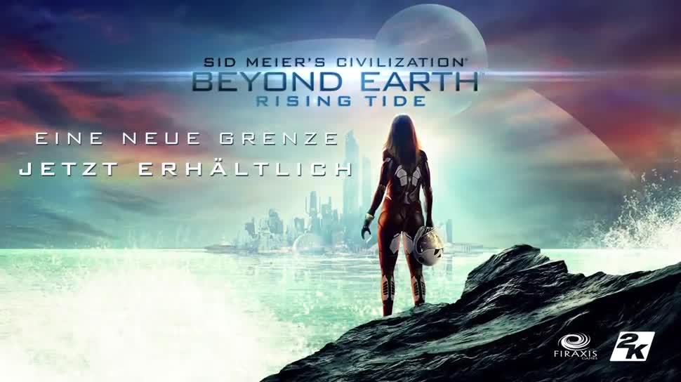 Trailer, Strategiespiel, 2K Games, Civilization, Sid Meier, Beyond Earth, Rising Tide