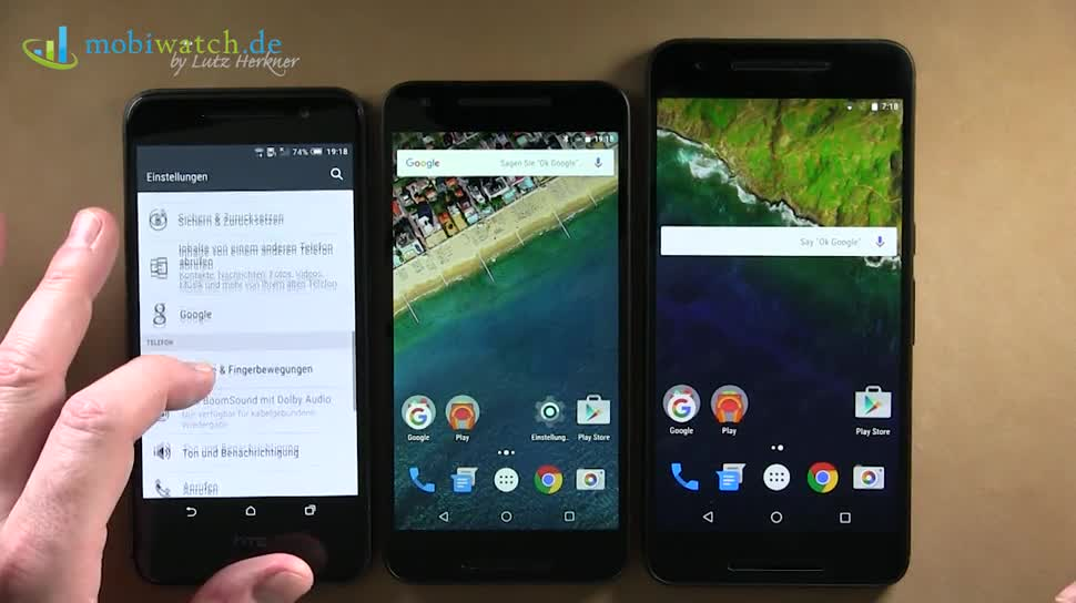 "Smartphone, Google, Android, Hands-On, Lutz Herkner, Android 6.0, Marshmallow, Nexus 6P, Nexus 5X, Android 6.0 ""Marshmallow"", Android 6, Android 6.0 Marshmallow, Nexus 6 2015, HTC A9"