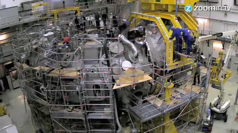 Forschung, Energie, Max-Planck-Institut, Kernfusion, Wendelstein 7X