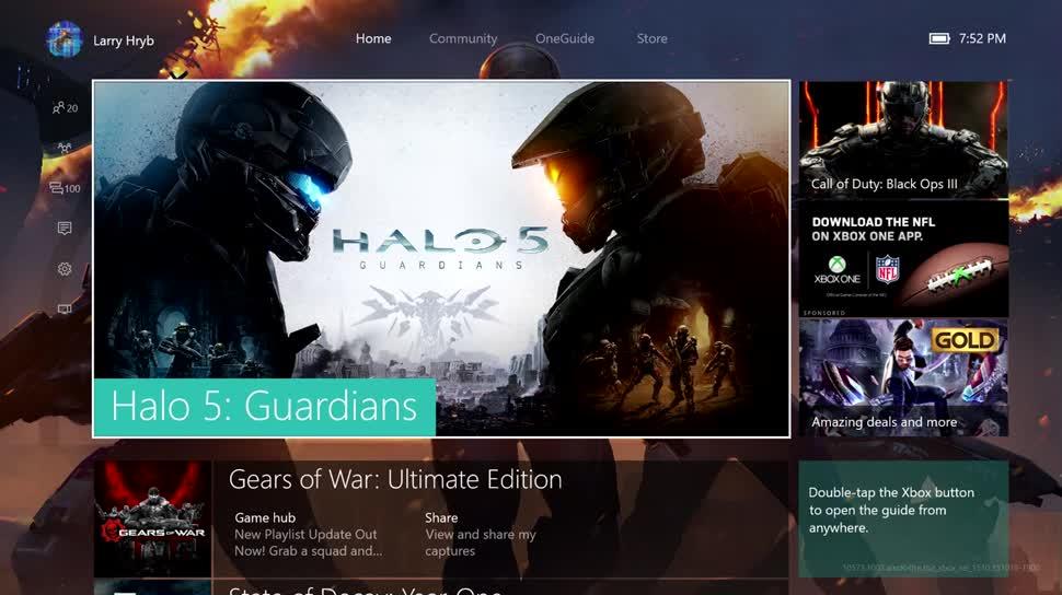 Microsoft, Windows 10, Xbox, Xbox One, Microsoft Xbox One, New Xbox One Experience