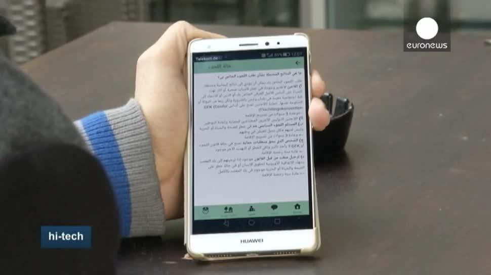 App, EuroNews, Flüchtlinge