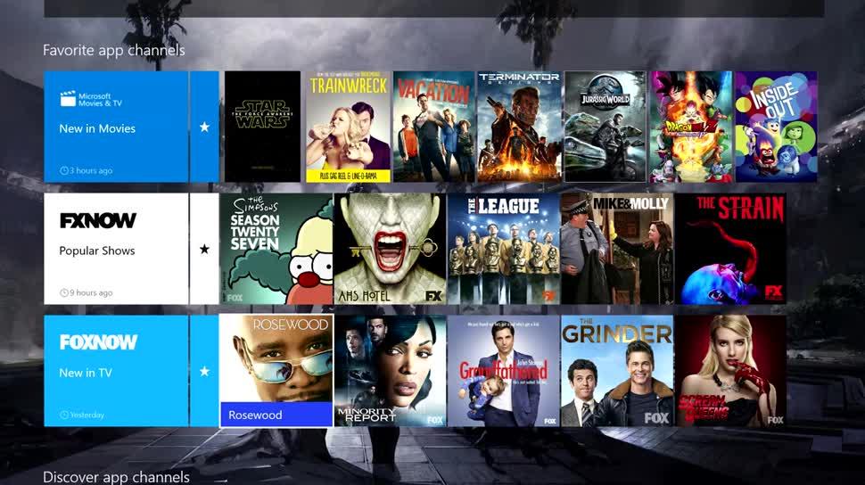 Xbox, Xbox One, Avatars, OneGuide, NXOE